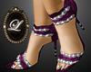 LIZ purple dmnd heel