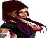 {BA69} Lacy red-purple