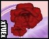 *Y* Hair Flower Red