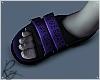 Purple Star Sandals