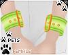 [Pets] Wristcuff   lime