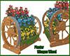 """Planter"""" Whagon Wheel"""""""