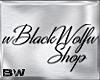wBlackWolfw Shop Sign