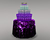 A~Purple BDay Cake-Table