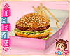 !✿ Burger and Fries