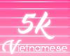 {Viet}5k Support Sticker