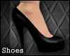 [TLZ]Black leather pumps