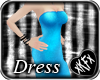 *KF* Blue Glitter Dress