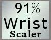 Wrist Scale 91% M A