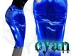 *c* Corseted PVC Blue