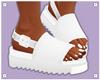 H+ SW_White Sandals