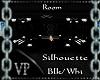 A silhouette Club Blk/wh