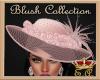 Blush Pink Diamond Hat