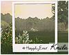 |K Polaroid Frame Happy