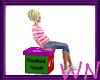 Derivable Gift Box Seat