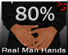 real man small hands 80%