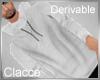 C derv hoodie grey