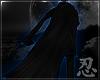 忍 Commander Cloak Blue