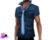 stylish man blue