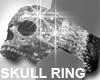 Iced Skull Ring