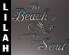 *L* Beach Quote