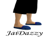 [JD]Blue Slippers