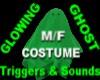 Ghost sheet *Glow Green