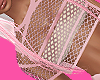 Controlled Pink NET TOP