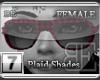 [BE] Pink Plaid Shades F
