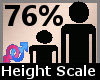 Height Scaler 76% F A