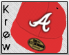 K | Atlanta Fitted Red