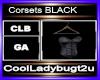 Corsets BLACK