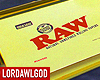 RAW GOLD TRAY CUSTOM