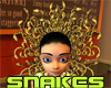 Medusa Snake Headdress