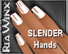 Wx:Slender Pearl Nails
