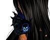 Blue rave gas mask