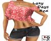 ~B~ Lazy Days Red