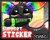 """Support"" Sticker"