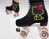 Kitty Roller Skate Black