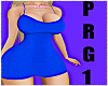 Bimbo Blue PRG1 Dress