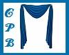 Blue Animated Curtains