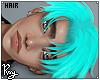Cyan Katsuya Hair