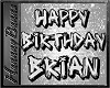 BRIAN birthday floor