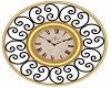Royal BlackGold Clock