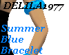 D77 Summer Blue Bracelet