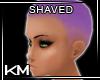 +KM+ Shaved Purple