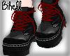 B! Dark Laced Boots