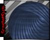 2015 Blue Round Rug