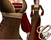 Medieval Thea Brown Red