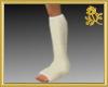 Male Left Leg Cast